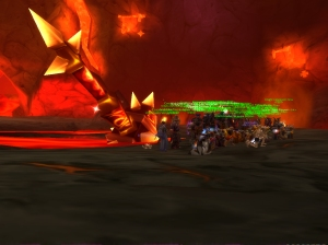 first Rags kill with my vanilla through mid-BC guild, FEST (Deathwing US-A)