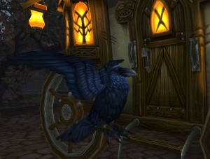 gilnean raven wow warcraft pet battles