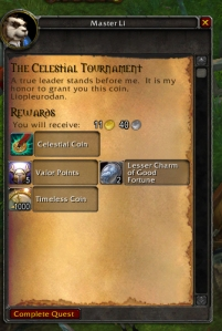 pet battle wow warcraft celestialtournamentquestturnin