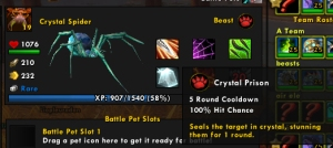 crystalspider wow warcraft pet battles