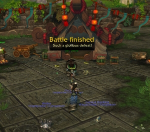 defeat wow warcraft pet battle