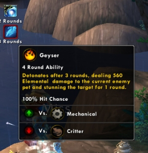 geyser pet battle ability warcraft