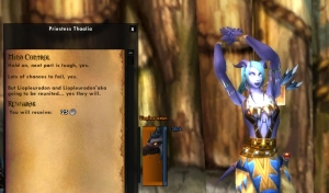 thaalia lashtail wow warcraft