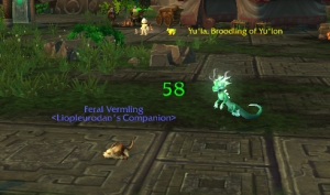 vermling wow warcraft pet battle