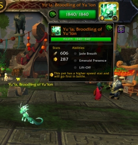 yulastats wow warcraft pet battle