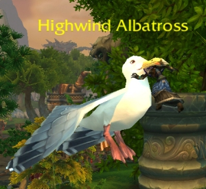 albatross wow world of warcraft pet battles flying
