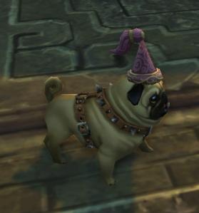 princess hat pug wow world of warcraft pet battle 5.4 celestial