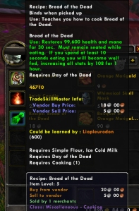 bread of the dead wow world of warcraft pet battle