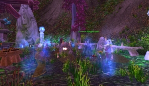 worgen graveyard wow world of warcraft pet battle