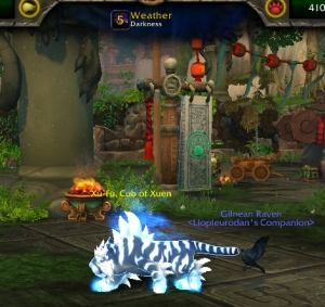 xufudarkness wow world of warcraft pet battles celestial
