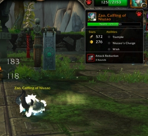 zao ability wow world of warcraft pet battle