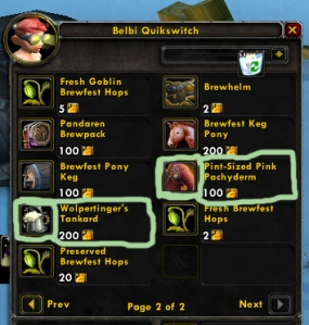 brewfest pets wow world of warcraft