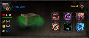 creepy crate wow world of warcraft pet battle