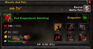 dead wow world of warcraft pet battle