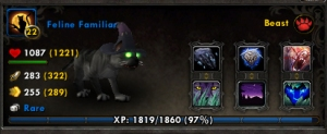 feline familiar wow world of warcraft