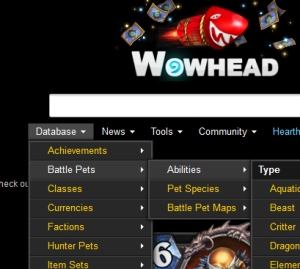 wowhead wow world of warcraft pet battle