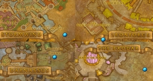thanksgiving map alliance wow warcraft