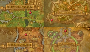 thanksgiving map horde wow warcraft