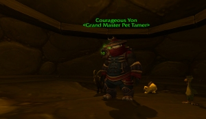 courageous yon wow pet battle warcraft tamer kun lai