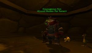 courageous yon wow pet battle warcraft tamer kun lai