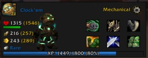 clockem stats wow world of warcraft pet battle