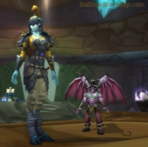 lillidan wow world of warcraft pet battle lil illidan