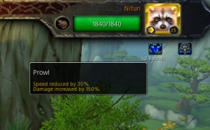 nitun prowl wow warcraft pet battle beast of fable
