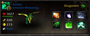 emeraldwhelpstats wow world of warcraft pet battles