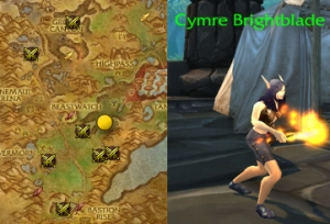 cymre wow draenor pet battle