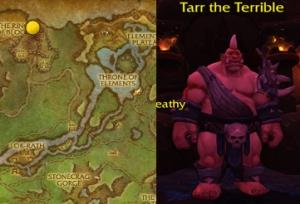 nagrand tamer tarr warcraft pet battle draenor