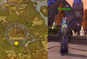 taralune draenor tamer pet battle warcraft