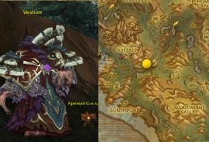vesharr arak wow warcraft pet battle draenor