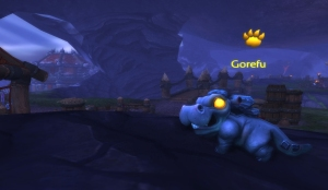 gorefu menagerie pet battle wow draenor