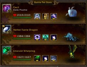 taralune team pet battle battle pet