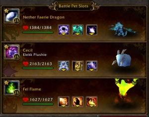vesharr team battle pet wow warcraft draenor