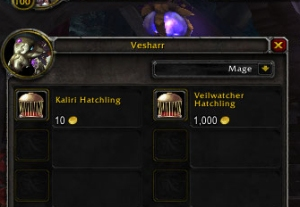 vesharr vendor draenor wow warcraft pet battle